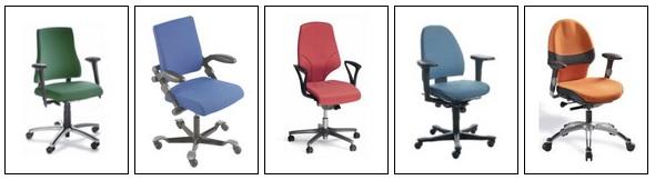 Bureaustoelen in alle merken in kleuren.