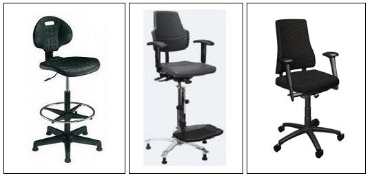 Hoge stoelen