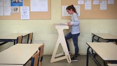 Statafels in de klas