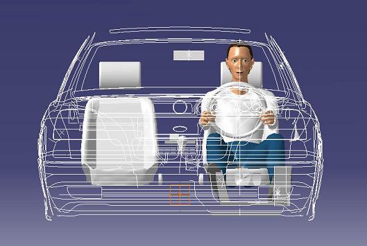 Ramsis computermodel in auto
