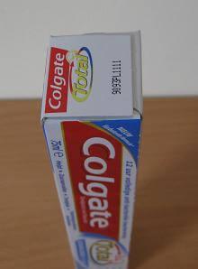 Colgate verpakking