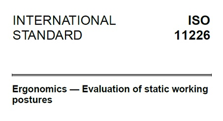 ISO11226 voorpagina