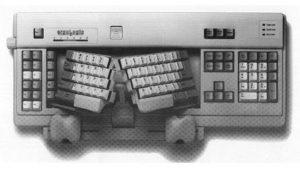 ErgoLogic toetsenbord