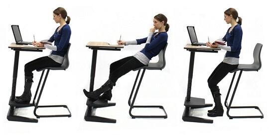 Wat is een goede zithouding? ergonomie site