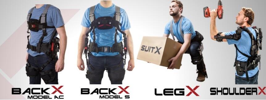 Exoskelets van SuitX