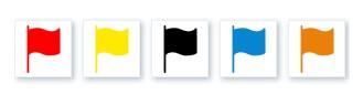 Vlaggen lage rugpijn