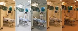 Voorbeeld human centric lighting in een ziekenhuis