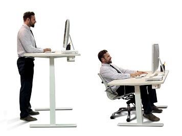 Een zit-sta tafel