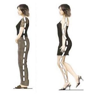 Hoge hakken en effect op je rug