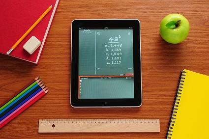 Tablet in de klas