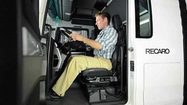 Zithouding vrachtwagenzetel