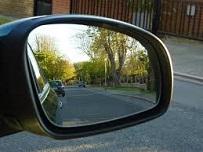 Zijspiegel wagen