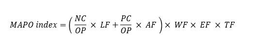 MAPO formule