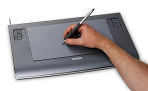 Tekentabet met pen