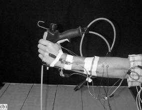 Een ergonomisch spuitpistool heeft een handvat dat past voor werken op een horizontaal en verticaal vlak.