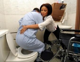 Zorgvragen op toiletpot zetten