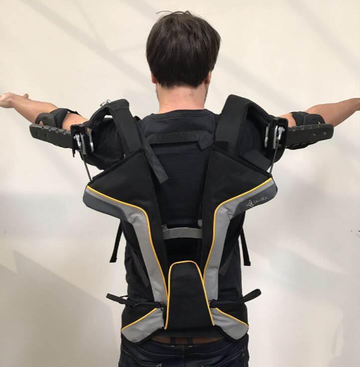 Skelet exoskelet schouders