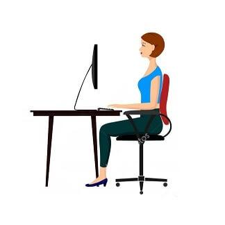 Hoe je bureaustoel instellen