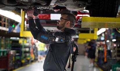 Ekso Bionics Vest bij Ford