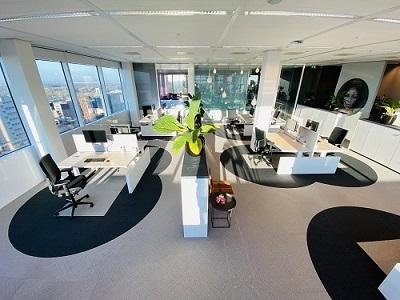 1,5 meter kantoor van 6 feet office.