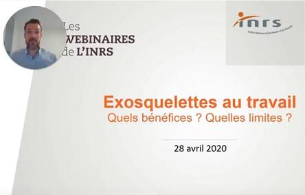 Webinar exoskelet INRS