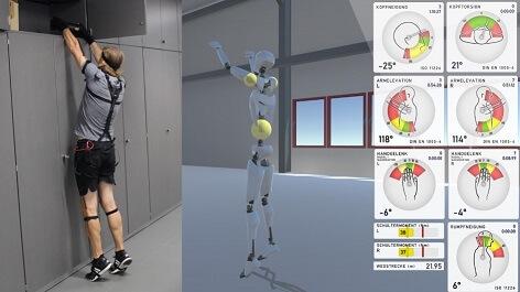 Software van Scalefit interpreteert in realtime bewegingsdata
