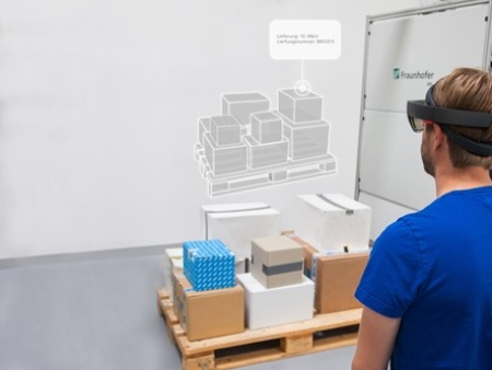 Augmented reality bij palletiseren