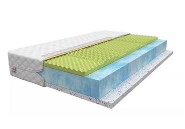 HR koudschuim matras, een elastisch materiaal met open structuur.